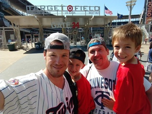 Rory attended Minnesota Twins vs. Baltimore Orioles - MLB on Jul 7th 2018 via VetTix