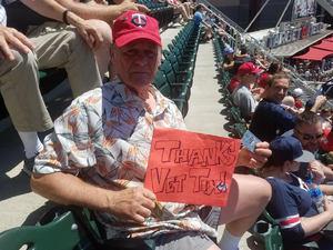 Harold attended Minnesota Twins vs. Baltimore Orioles - MLB on Jul 7th 2018 via VetTix