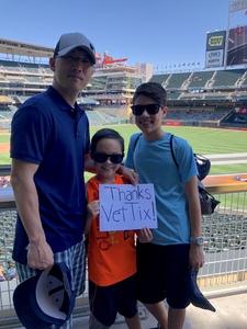 Scott attended Minnesota Twins vs. Baltimore Orioles - MLB on Jul 7th 2018 via VetTix
