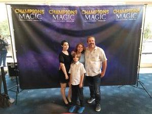 Charles attended Champions of Magic - Saturday on Jun 30th 2018 via VetTix