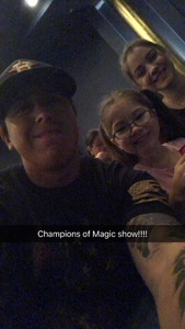 Cesar attended Champions of Magic - Saturday on Jun 30th 2018 via VetTix