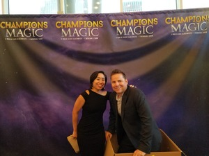 Stuart Fenton attended Champions of Magic - Saturday on Jun 30th 2018 via VetTix