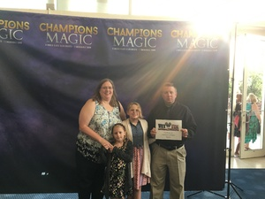 Michael or Elizabeth attended Champions of Magic - Saturday on Jun 30th 2018 via VetTix