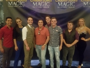 Brian attended Champions of Magic - Saturday on Jun 30th 2018 via VetTix