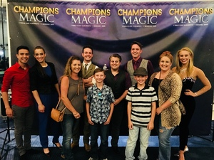 Carolyn attended Champions of Magic - Saturday on Jun 30th 2018 via VetTix