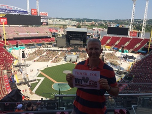 Patrick attended Luke Bryan: What Makes You Country Tour on Jun 16th 2018 via VetTix