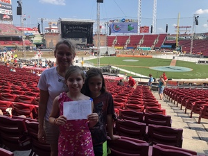 Amie attended Luke Bryan: What Makes You Country Tour on Jun 16th 2018 via VetTix