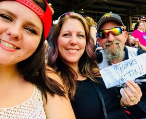 James attended Luke Bryan: What Makes You Country Tour on Jun 16th 2018 via VetTix