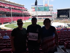 Keith attended Luke Bryan: What Makes You Country Tour on Jun 16th 2018 via VetTix