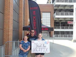 Kyle attended Luke Bryan: What Makes You Country Tour on Jun 16th 2018 via VetTix
