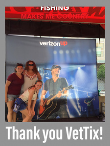 Charles attended Luke Bryan: What Makes You Country Tour on Jun 16th 2018 via VetTix