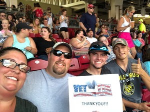 Patricia attended Luke Bryan: What Makes You Country Tour on Jun 16th 2018 via VetTix
