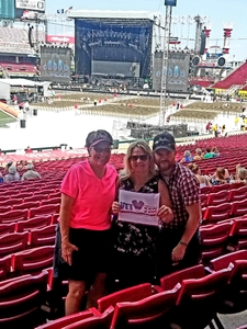 Justin attended Luke Bryan: What Makes You Country Tour on Jun 16th 2018 via VetTix