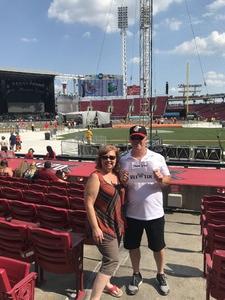 Michael attended Luke Bryan: What Makes You Country Tour on Jun 16th 2018 via VetTix