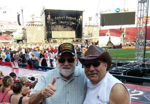 Michael Williams attended Luke Bryan: What Makes You Country Tour on Jun 16th 2018 via VetTix