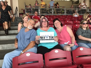 Sherry attended Luke Bryan: What Makes You Country Tour on Jun 16th 2018 via VetTix