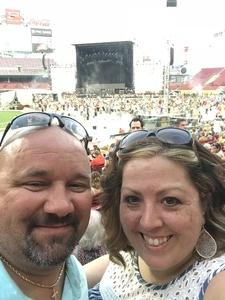 Bryan attended Luke Bryan: What Makes You Country Tour on Jun 16th 2018 via VetTix