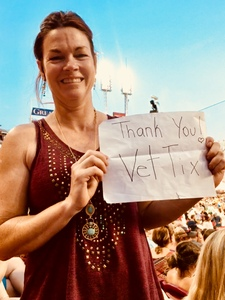 Holly attended Luke Bryan: What Makes You Country Tour on Jun 16th 2018 via VetTix