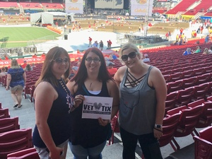 Kelly attended Luke Bryan: What Makes You Country Tour on Jun 16th 2018 via VetTix