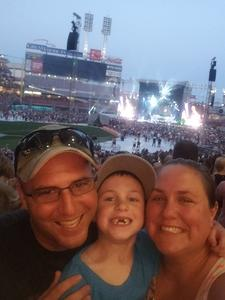 eric attended Luke Bryan: What Makes You Country Tour on Jun 16th 2018 via VetTix