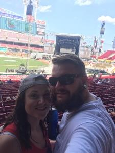 Nicholas attended Luke Bryan: What Makes You Country Tour on Jun 16th 2018 via VetTix