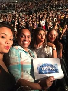 carmen attended Kesha and Macklemore - Live in Concert - Presented by the Mandalay Bay Events Center on Jun 9th 2018 via VetTix
