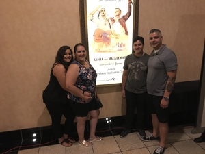 Edmundo attended Kesha and Macklemore - Live in Concert - Presented by the Mandalay Bay Events Center on Jun 9th 2018 via VetTix