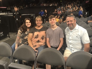 Jacob attended Kesha and Macklemore - Live in Concert - Presented by the Mandalay Bay Events Center on Jun 9th 2018 via VetTix
