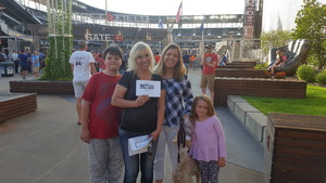 Roxanna attended Minnesota Twins vs. Cleveland Indians - MLB on Jul 30th 2018 via VetTix