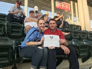 Heidi attended Minnesota Twins vs. Cleveland Indians - MLB on Jul 30th 2018 via VetTix