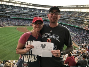 Matt attended Minnesota Twins vs. Cleveland Indians - MLB on Jul 30th 2018 via VetTix