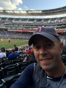 Collin attended Minnesota Twins vs. Cleveland Indians - MLB on Jul 30th 2018 via VetTix