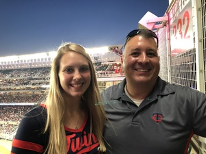 Christopher attended Minnesota Twins vs. Cleveland Indians - MLB on Jul 30th 2018 via VetTix