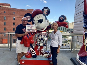 Laurence attended Minnesota Twins vs. Cleveland Indians - MLB on Jul 30th 2018 via VetTix