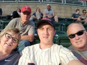 RUSSELL attended Minnesota Twins vs. Cleveland Indians - MLB on Jul 30th 2018 via VetTix
