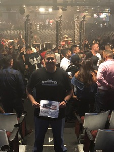 Jose attended Geraldo Ortiz - Show is in Spanish on Jun 16th 2018 via VetTix