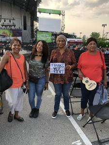 Sandra attended Ray Lamontagne With Very Special Guest Neko Case - Pop on Jun 16th 2018 via VetTix