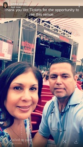 Hector attended 101x Presents Thirty Seconds to Mars on Jul 7th 2018 via VetTix