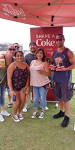 Tracy attended 101x Presents Thirty Seconds to Mars on Jul 7th 2018 via VetTix