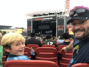 Stephen attended 101x Presents Thirty Seconds to Mars on Jul 7th 2018 via VetTix