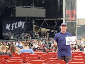 Scott attended 101x Presents Thirty Seconds to Mars on Jul 7th 2018 via VetTix