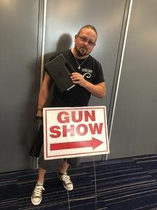 Arthur attended Houston GRB Gun Show - Presented by Premier Gun Shows - Ticket Good for Saturday or Sunday on Jul 29th 2018 via VetTix