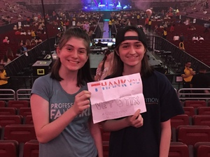 Michael attended Harry Styles Live on Tour on Jun 15th 2018 via VetTix