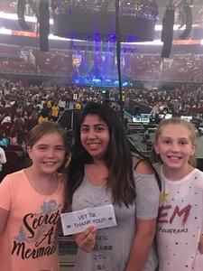 Salvadora attended Harry Styles Live on Tour on Jun 15th 2018 via VetTix