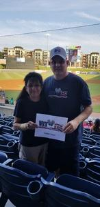 Richard attended Gwinnett Stripers vs. Pawtucket Red Sox - MiLB on Jul 20th 2018 via VetTix