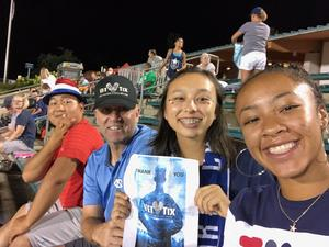 Martin attended North Carolina Courage vs. Chicago Red Stars - NWSL - National Womens Soccer League on Jul 4th 2018 via VetTix