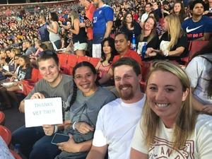 Ryan attended Taylor Swift Reputation Stadium Tour on Jul 11th 2018 via VetTix