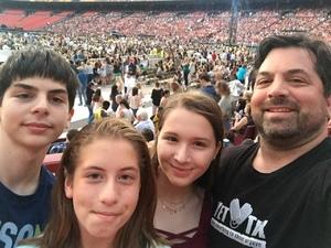 Chris attended Taylor Swift Reputation Stadium Tour on Jul 11th 2018 via VetTix