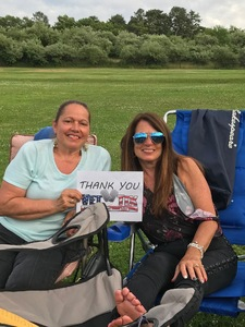 Loretta attended Frankie Valli & The Four Seasons - Lawn Seating on Jul 6th 2018 via VetTix