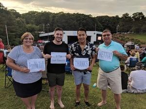 Robert Kilp attended Frankie Valli & The Four Seasons - Lawn Seating on Jul 6th 2018 via VetTix